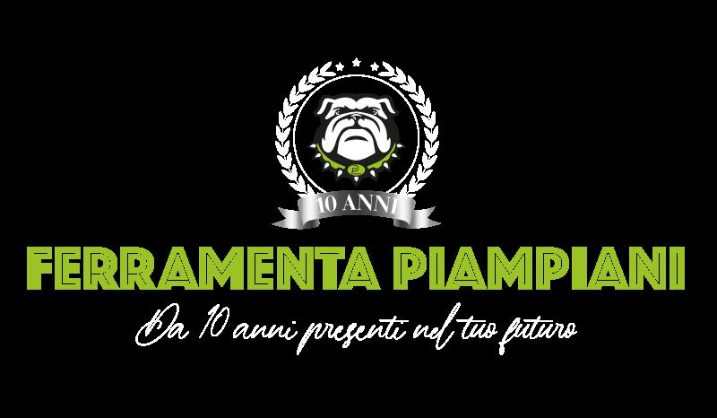 logo Ferramenta Piampiani 10 anni Anniversario
